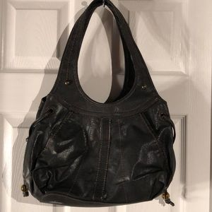 St. John's Bay Bags - Black hobo bag, gently used condition